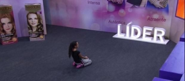 Emilly é a Líder desta semana e vai indicar algum brother para o Paredão de domingo, 2/4 (Foto: TV Globo)