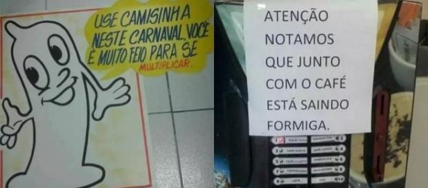 Imagens provam que o melhor do Brasil é o brasileiro.
