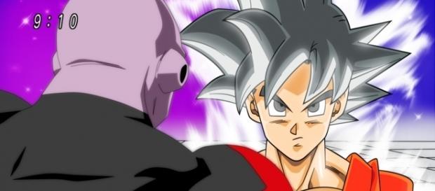 Jiren se enfrenta a Goku en Fase White