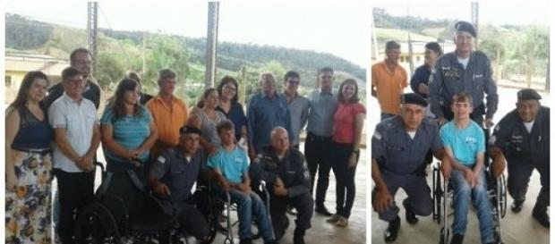 Polícia Militar faz ato de caridade