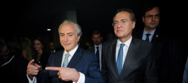 Renan Calheiros critica governo Temer em vídeo