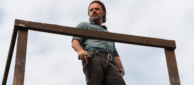 The Walking Dead : Rick prêt à faire un discours épique !