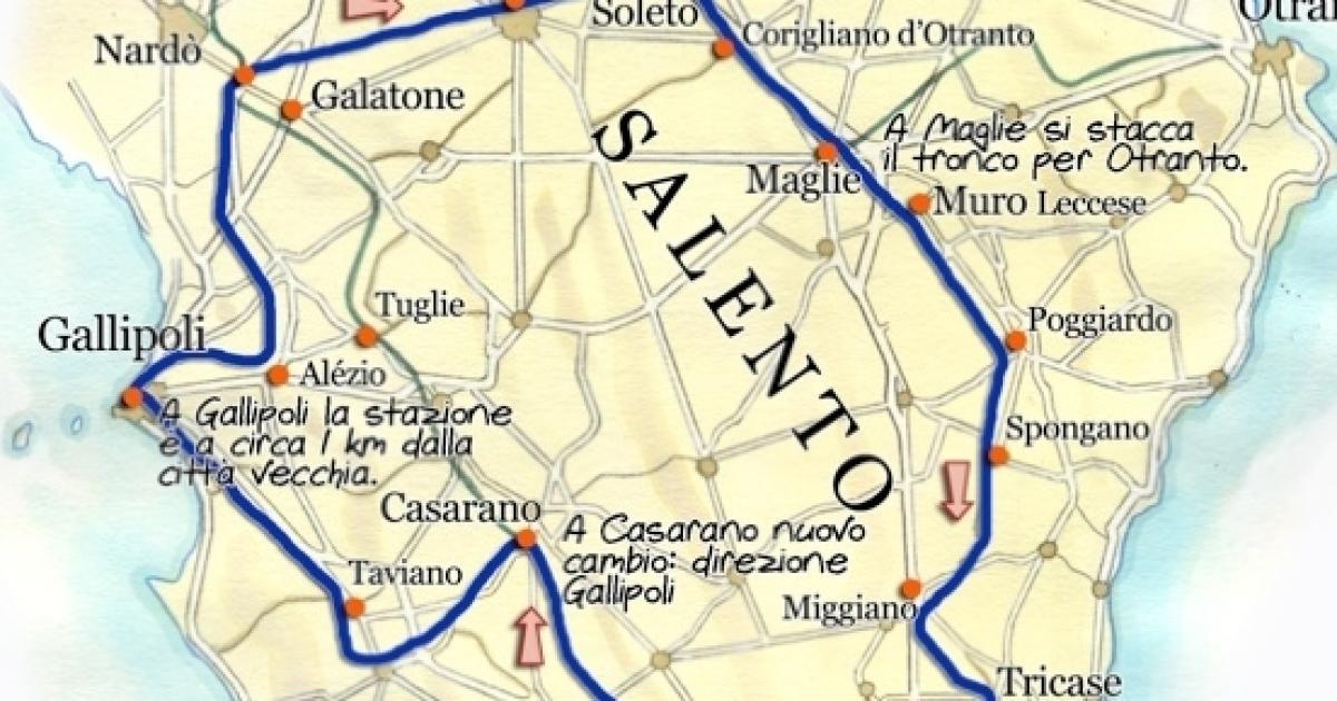 Cartina Puglia Dettagliata Gallipoli.Salento Quale Paese E Piu Ricco La Classifica Dettagliata
