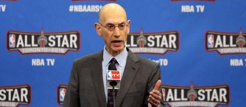 Adam Silver: NBA 'committed' to Charlotte for 2019 All-Star Game ... - sportingnews.com