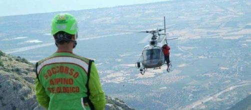 Fondamentale l'ausulio dell'elicottero della Regione Calabria