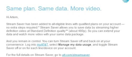 Make use of the Stream Saver feature to consume less data - androidpolice.com