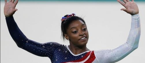 Olympic champion Simone Biles is the preseason favorite to take the 'DWTS' season 24 trophy. Agência Brasil Fotografias/Wikimedia