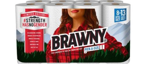 The Brawny Man is now a Brawny Woman · Photo: Blasting News Library - avclub.com