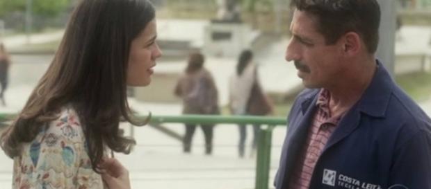 Aline e Misael na novela 'A Lei do Amor' (Divulgação/Globo)