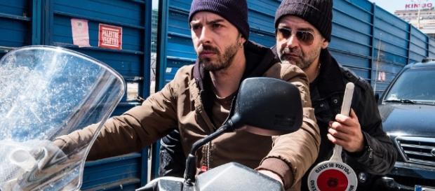 Michele Riondino e Fortunato Cerlino in 'Falchi': dal 2 marzo al cinema.