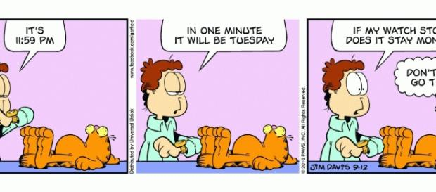 Garfield | Daily Comic Strip on September 12th, 2016 - garfield.com
