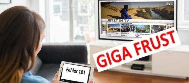 GigaTV von Vodafone macht noch viele Probleme / Foto: Vodafone PR; Text: Montage Blastingnews
