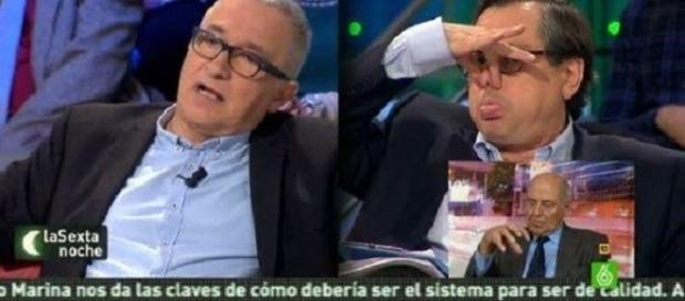"Marhuenda acribilla a Sardá: ""¡A mí no me han condenado, payaso!"""