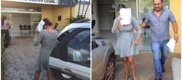 Taynara Siel Lemos foi presa acusada de assassinato
