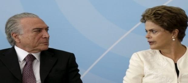 Odebrecht afirma ter pagado verba de caixa 2 para garantir apoio à chapa Dilma-Temer em 2014.