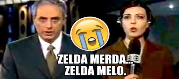 William Waack chama Zelda Melo de Zelda Merda!