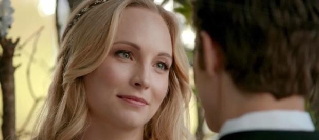 """The Vampire Diaries"" 8x15: o penúltimo episódio foi marcado pelo casamento de Steroline (Foto: CW/Screencap)"