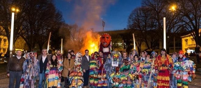 Carnaval dos caretos em Bragança