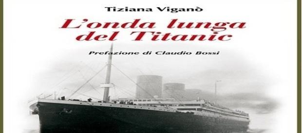 """cover del libro """"L'ultima onda del Titanic"""" di Tiziana Viganò"""