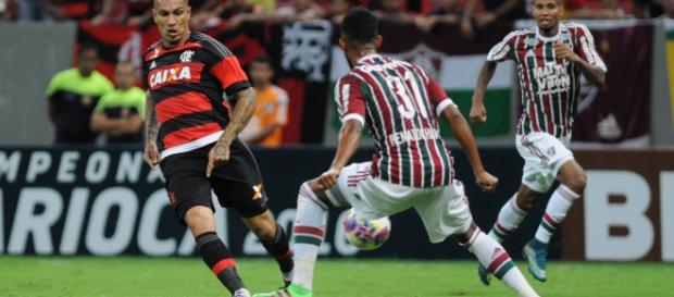 Flamengo e Fluminense decidiram a Taça Guanabara 2017