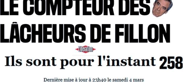 La suite des personnalités ayant lâché François Fillon