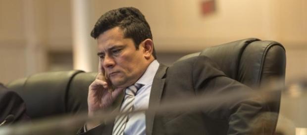 Sérgio Moro, responsável pela Operação Lava Jato, em destaque