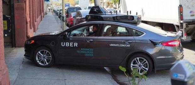 Uber self-driving vehicle prototype, Wikimedia Commons
