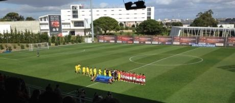 O SL Benfica joga os quartos-de-final da UEFA Youth League