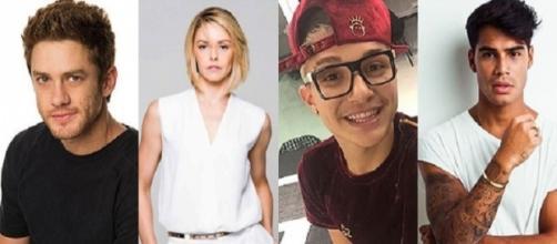 Bianca Rinaldi e MC Gui integram a lista de famosos no Dancing Brasil (Foto: Reprodução)