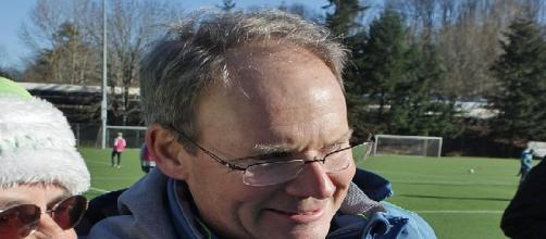 Brian Schetzmer, head coach of the Seattle Sounders (Credit: SounderBruce - wikimedia.org)
