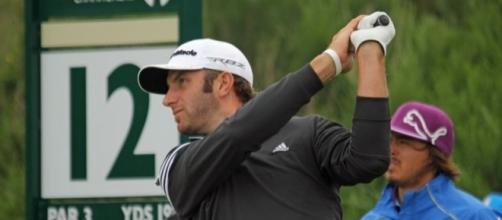 Dustin Johnson remains the world's number one, Wikimedia Commons https://commons.wikimedia.org/wiki/File:Dustin_Johnson_2012.jpg