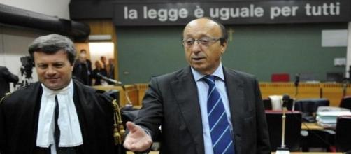 La dura accusa di Luciano Moggi