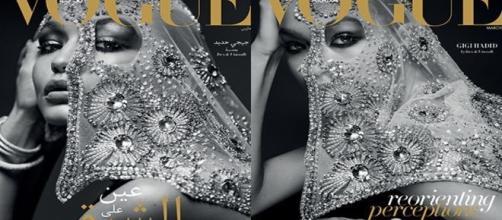 La primera portada de Vogue Arabia con Gigi Hadid