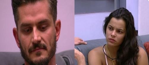 Marcos exagera ao fazer comentário (Foto: reprodução TV Globo)