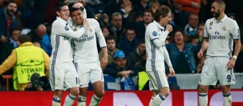 O Real Madrid venceu a primeira mão por 3-1