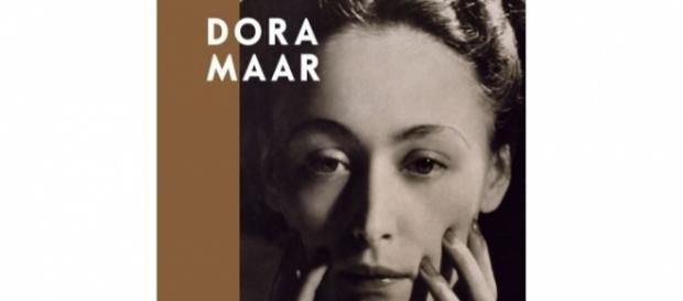 Book cover portrait of Dora Maar by Man Ray FAIR USE fresques.ina.fr Creative Commons