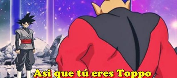 Dragon Ball Super: Goku versus Toppo