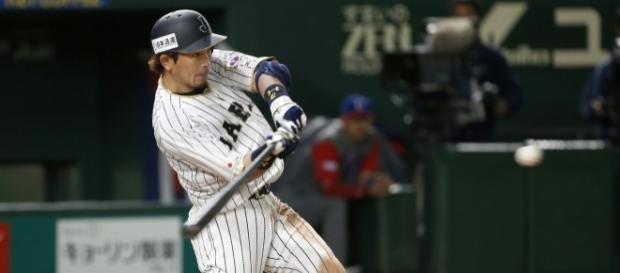 Matsuda fue la bujía ofensiva de Japón con 4 hits y su HR clave de 2 carreras. TheJapanTimes.com