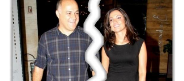 Patrícia Poeta estaria se separando de seu marido, Amauri Soares, mas casal não confirma