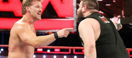Chris Jericho and Kevin Owens will fight at 'WrestleMania 33' with the US title on the line. [Image via Blasting News image library/inquisitr.com]