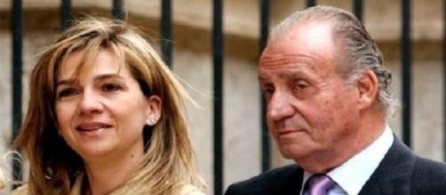 El Rey Juan Carlos y la infanta Cristina