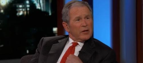 L'ex presidente George W. Bush