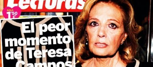 Maria Teresa Campos en la portada
