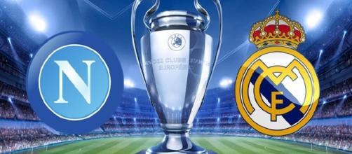 Napoi-Real Madrid formazioni ufficiali