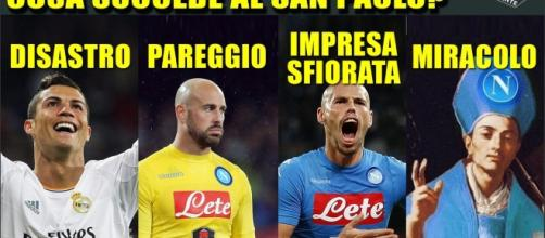 Napoli spera in San Gennaro per la vittoria di stasera