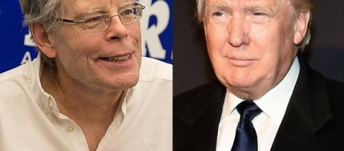 The Donald and Stephen King: not friendly. | eonline.com
