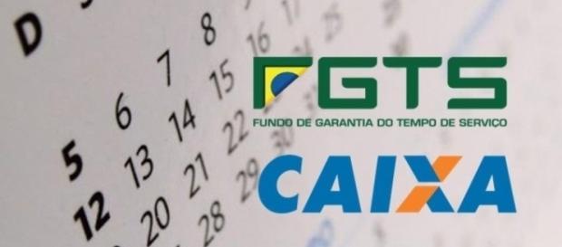 A Caixa Econômica Federal começou a liberar os saque das contas inativas do FGTS