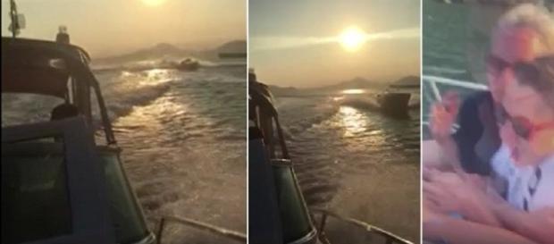 Colisão está sendo investigada pela Capitania dos Portos