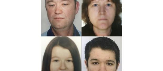 France Monde   Disparus d'Orvault : le beau-frère a démembré les corps - lejsl.com Photo des quatres membres de la famille Troadec