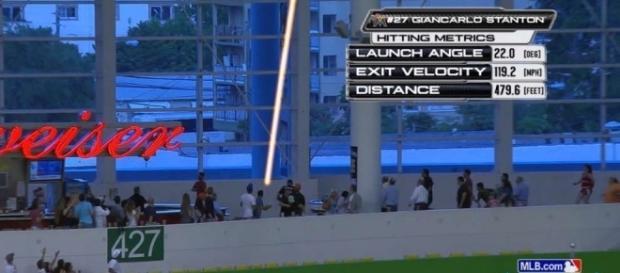 Giancarlo Stanton hits 479-foot home run | MLB.com - mlb.com